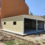 Монтаж на метална къща с термопанели