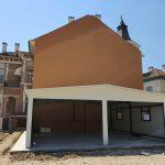 Изработка на метална къща с термопанели