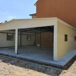 Изграждане на метална къща с термопанели